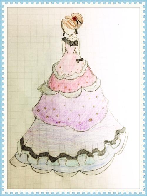 娘のイラスト