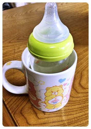 ミルクを冷やす方法