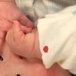 5ヶ月の息子の手遊び