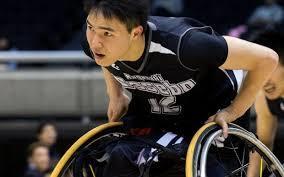 車いすバスケットの選手鳥海連志選手