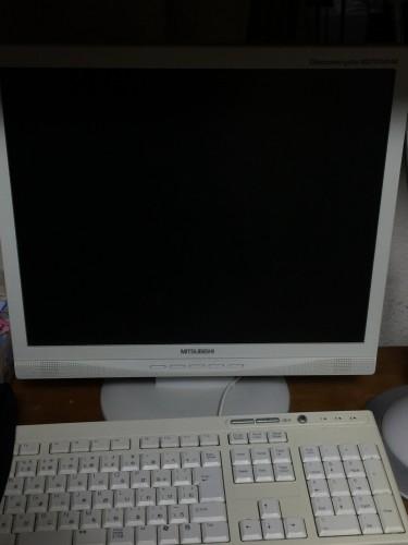 パソコンモニターをメルカリで購入
