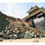 熊本地震本震被害熊本城