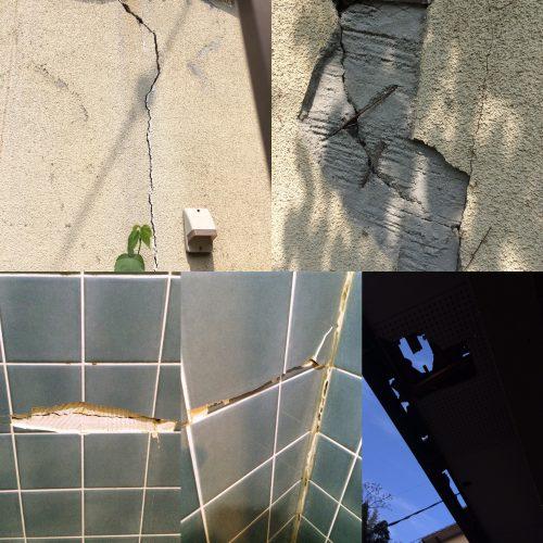 熊本地震での家の被害