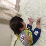 生後10ヶ月おすわりの練習ダウン症