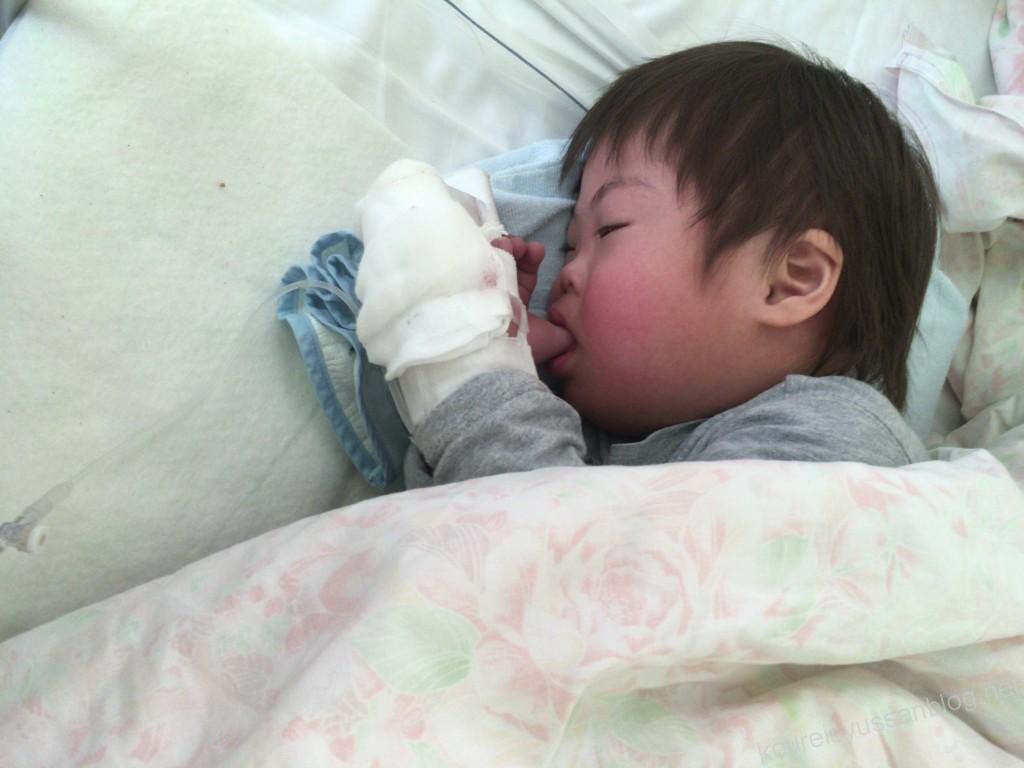 川崎病で入院